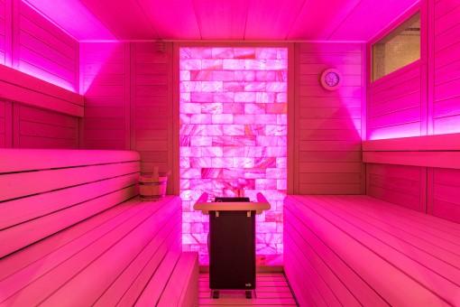 Views of the sauna