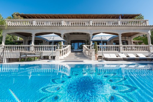 Exceptional villa in the most exclusive part of Old Bendinat