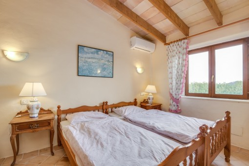 Further bedroom with sloping roof