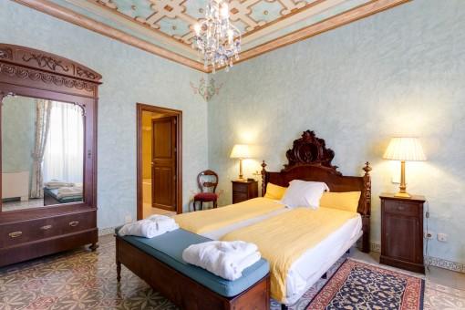 Mallorcan style bedroom