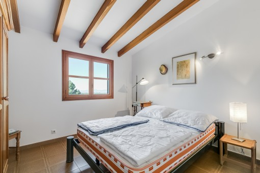 Light flooded bedroom