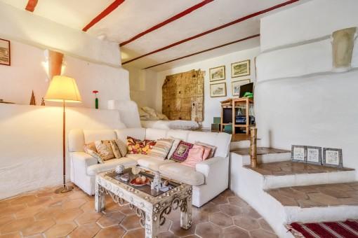 Inviting lounge area
