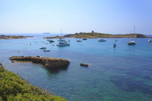 The beach of Illetas