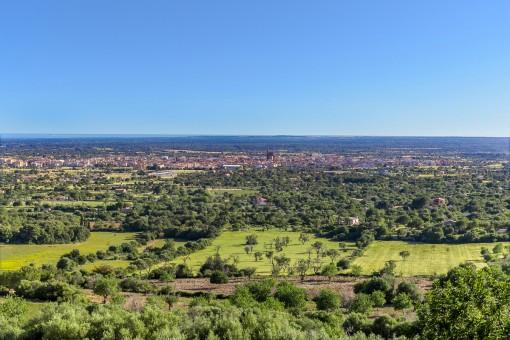 Impressive panoramic views