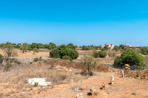 The finca stand on a 16.866 sqm plot