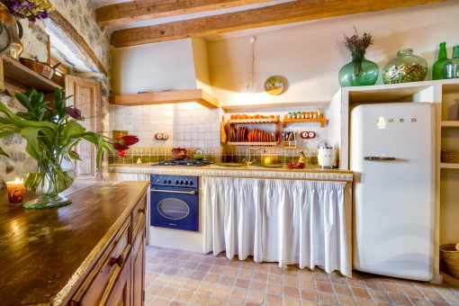 Traditional kitchen in mallorquin style