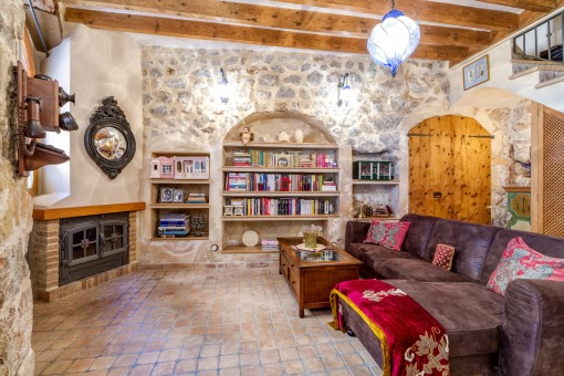 Wonderful, renovated Mallorcan house with much charm in Valdemossa