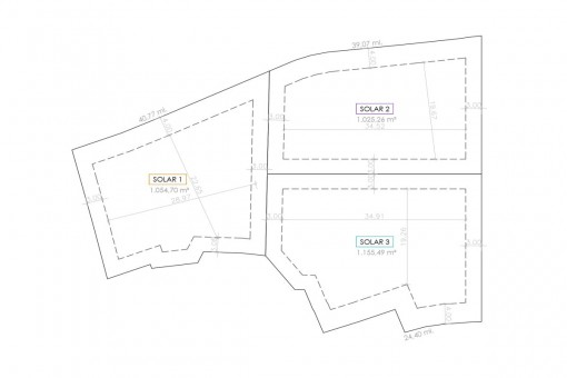 Plan of the plots