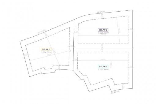 Plan of the plots