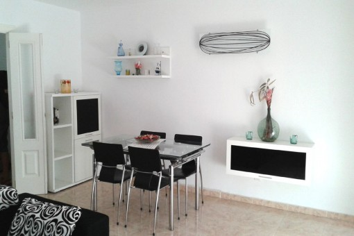 Friendly dining area