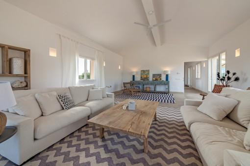 Spacious living area