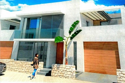 Exterior view of the luxurious building project