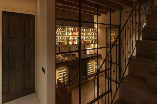 Wine cellar of the property