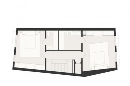 Construction plan: First floor