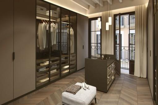 Wonderful dressing room