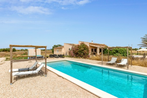 Wonderful finca in a spectacular location in Ses Covetes