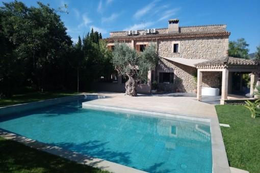 villa in Capdella