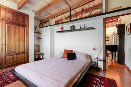 Bedroom on the upper floor
