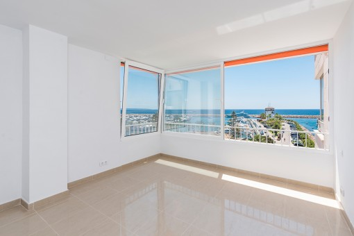 Wonderful sea view bedroom
