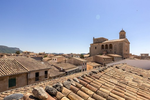 Wonderful views over the roofs of Llucmajor
