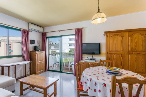 Well-maintained apartment in Alcudia for the perfect summer holiday in a holiday complex close to the beach