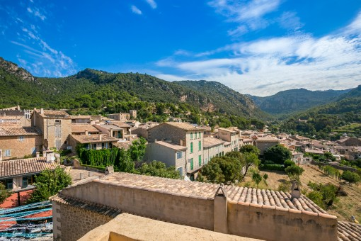 Beautiful view of Valldemossa