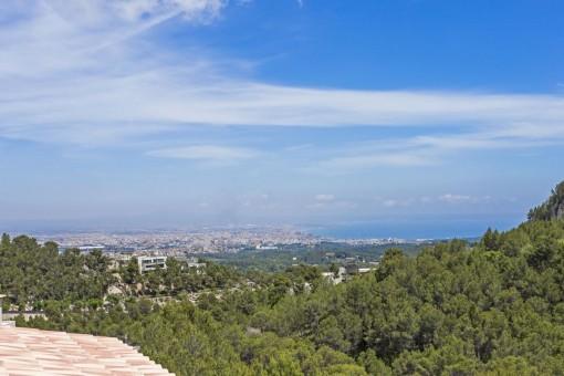 Impressive panorama views