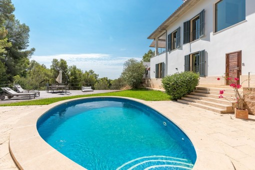 Wonderful villa with suerb panoramic views in Portals Nous