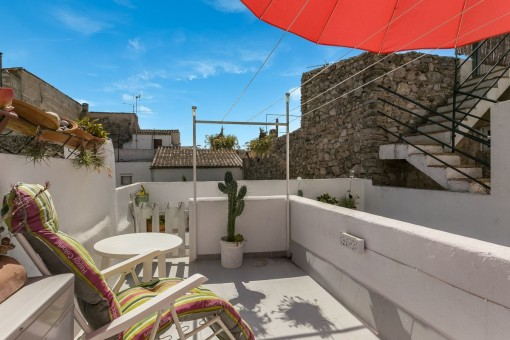 Charming, renovated town house in Arta in a quiet location