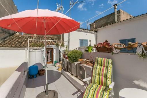 Lovely roof terrace