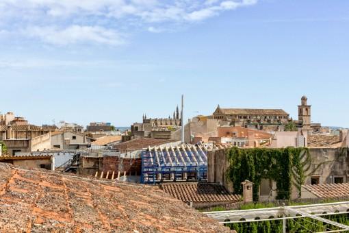 Fantastic views over Palma