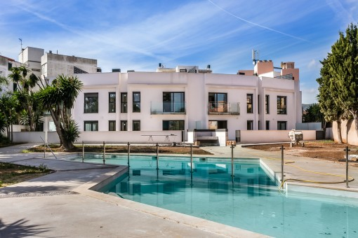 Wonderful, newly-built ground floor apartment with a large terrace, for golf enthusiasts, near to Son Vida