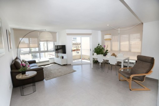 Beautiful, modern apartment close to a trendy district in Palma