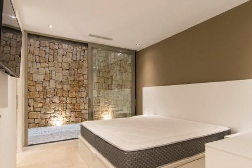 Beautiful bedroom on the ground floor