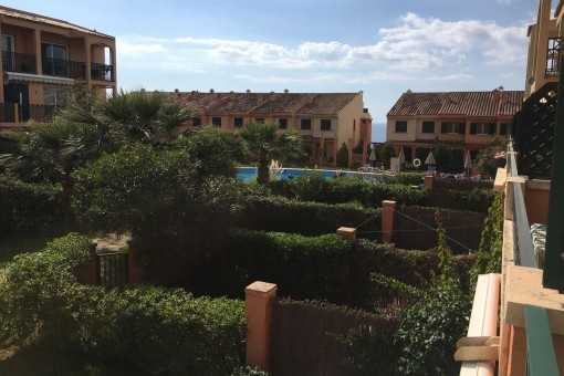 A beautiful duplex 4 bedroom garden apartment in a sought after community above Port Adriano