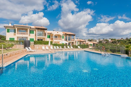 Spectacular penthouse with sea views in Cala Anguilla