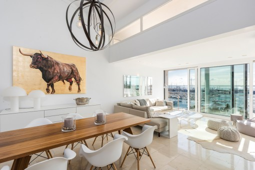 Exclusive penthouse-gallery apartment with...