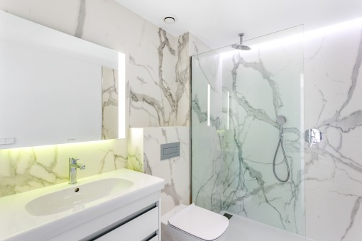 Modern bathroom en suite