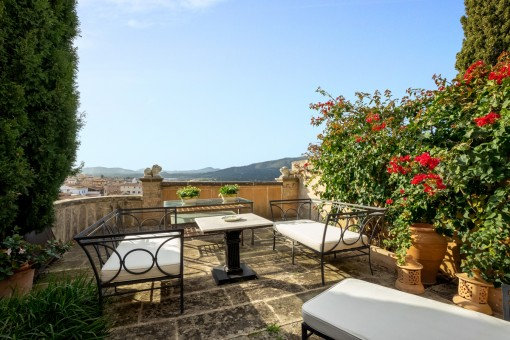 Special townhouse in a prime location in Capdepera with wonderful sweeping views