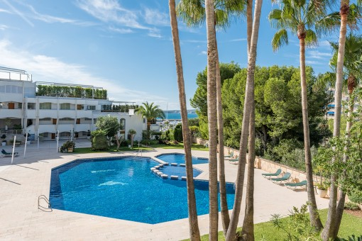 Apartment in a prime location in Portals Nous with sea views, completely renovated to a high standard