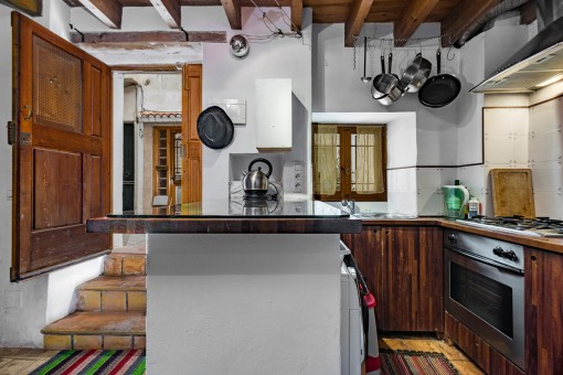 Lovely town house in the popular district of Santa Catalina in Palma