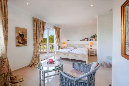 Further bedroom on the upper floor