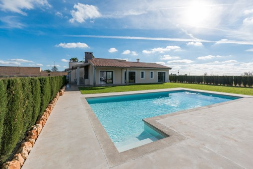 Lovely, high-quality finca next to the golf course in Manacor