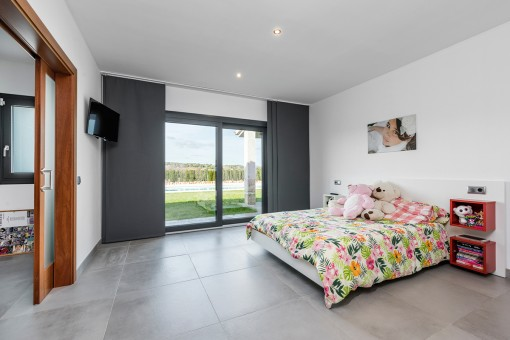 One of 2 bedrooms