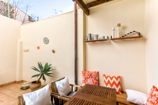 Cute apartment with patio in Palma
