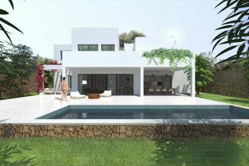 villa in Cala Mondrago for sale