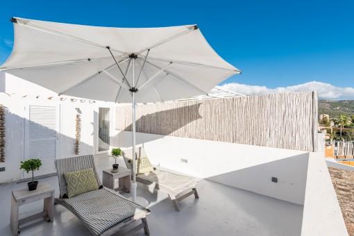 Lovely sun terrace
