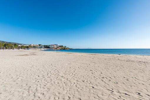 Wonderful beach of Palmanova