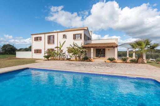 Country house with pool close to Santanyí