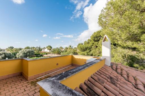 Wonderful roof terrace